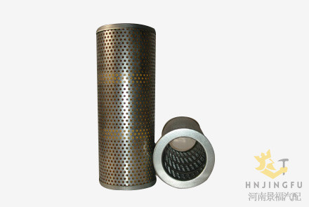 j-1220/17217573710 hydraulic oil filter for excavator diesel engine spare  parts