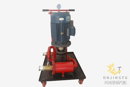 Portable mobile 50 lpm 3000 lph oil refinery filtration machine price