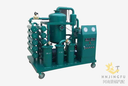 Vacuum hydraulic oil water separator filter filtration system purifier machine