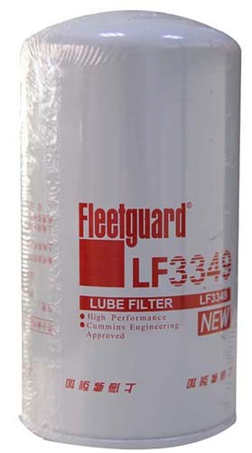 Genuine Yutong bus spare parts 1012-00168 Fleetguard LF3349 lube oil filter