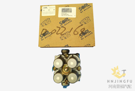 Yutong bus Sorl parts 35150070560 four circuit protection valve
