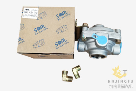 Sorl 35180030010 relay speed valve for Yutong bus truck parts